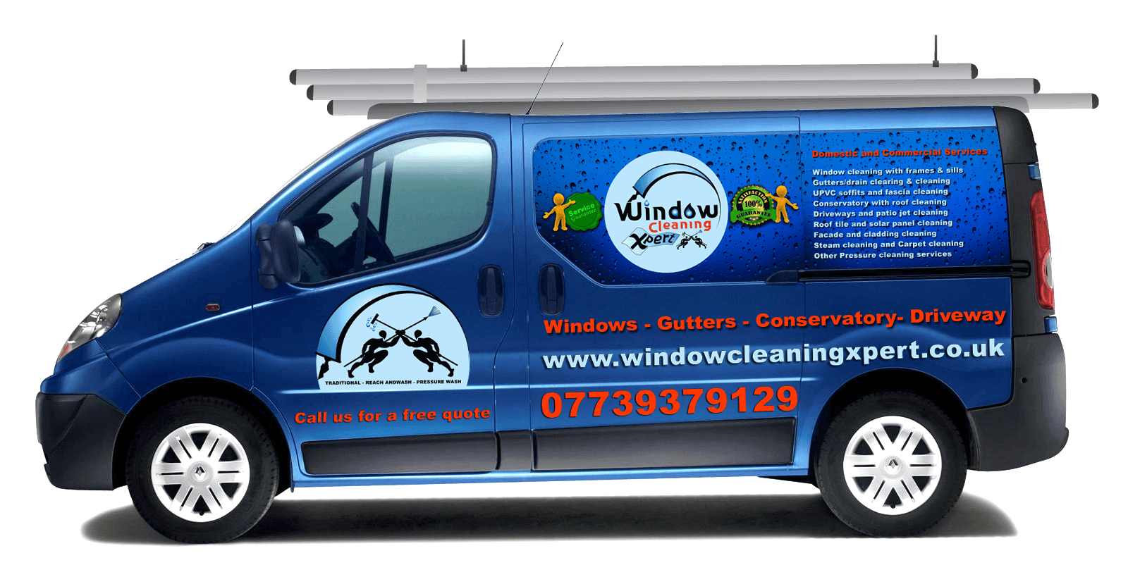 Window Decal And Car Sign Design For Businesses In Leicester - Car window decals for business uk